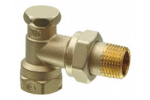 AEN10 Клапан радиаторный угловой, PN10, DN10, KVS 0..1.8 SIEMENS