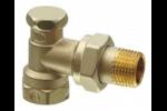 AEN20 Клапан радиаторный угловой, PN10, DN20, KVS 0..3.0 SIEMENS